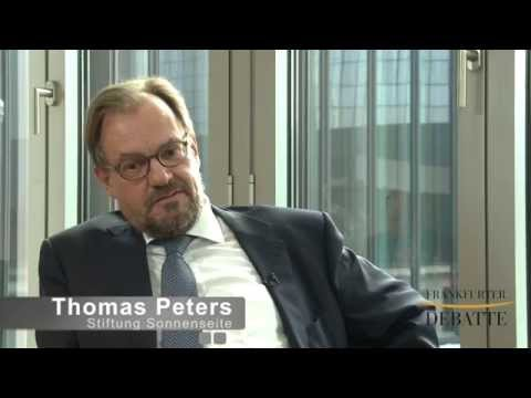Frankfurter Debatte 2015: Thomas Peters, Stiftung Sonnenseite