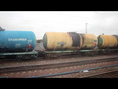 Прибытие на станцию Мариинск