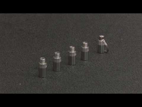 Rugged Ridge 15104.50 Stainless Steel Tire Deflator Kit