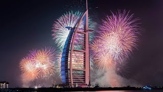 [HD] DUBAI NYE 2017 VLOG - NEW YEAR FIREWORKS BURJ AL ARAB