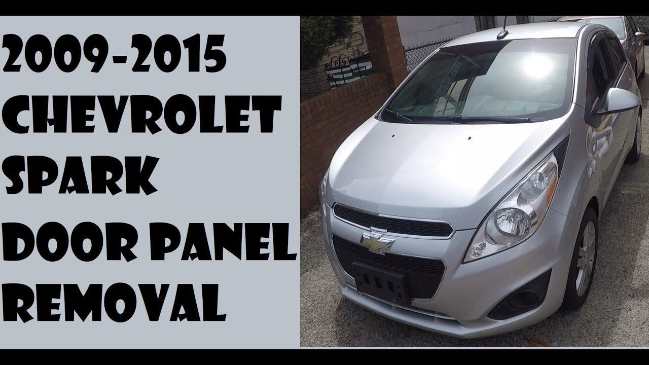 How To Remove Door Panel In Chevrolet Spark 2009 2015 Youtube