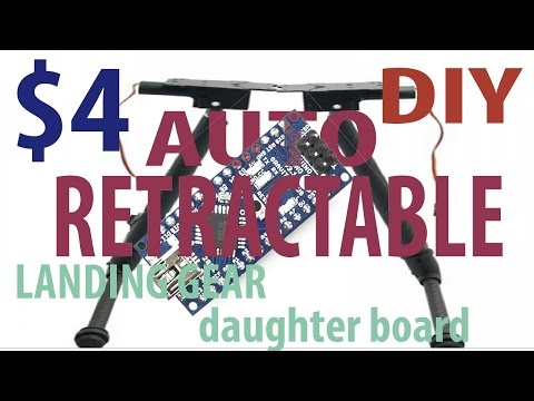 4 dollar ish Auto retracting daughter board diy