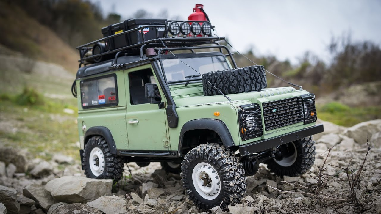 Scale 4x4 Off Road Defender D90 Rc4wd Gelande Ii Land
