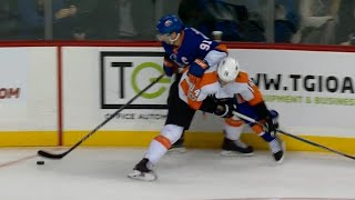 Tavares unstoppable in setting up Islanders OT goal