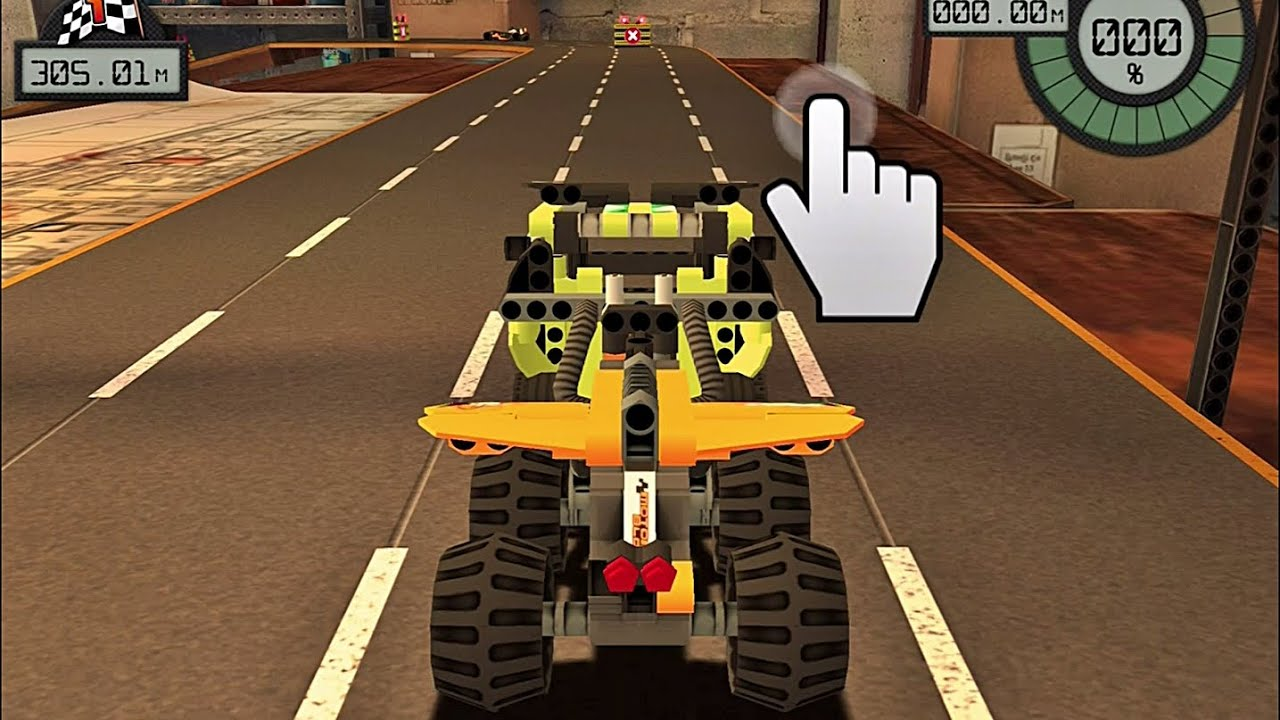 lego technic race free game app for kids android ipad. Black Bedroom Furniture Sets. Home Design Ideas