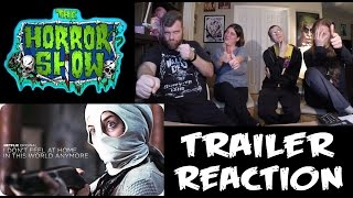 """I Don't Feel At Home In This World Anymore"" Netflix Trailer Reaction - The Horror Show"