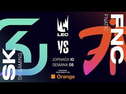 SK GAMING VS FNATIC | LEC | Spring Split [2019] League of Legends thumbnail