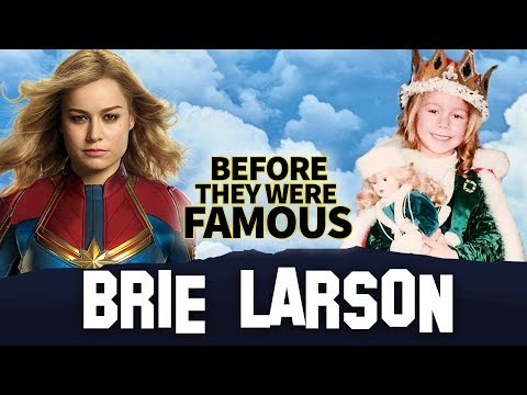 Brie Larson   Before They Were Famous   Captain Marvel, Room, 21 Jump Street, Jay Leno & More