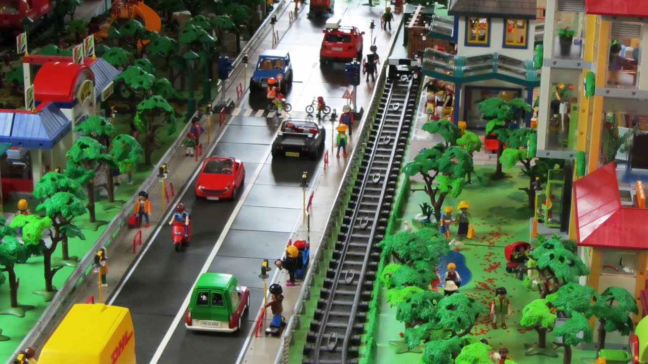 playmobil city life play world building project youtube