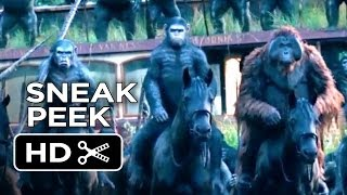 Dawn Of The Planet Of The Apes Official Trailer #2 Sneak Peek (2014) - Gary Oldman Movie HD