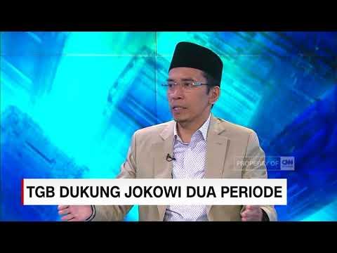 TGB Dukung Jokowi 2 Periode, Ini Alasannya!