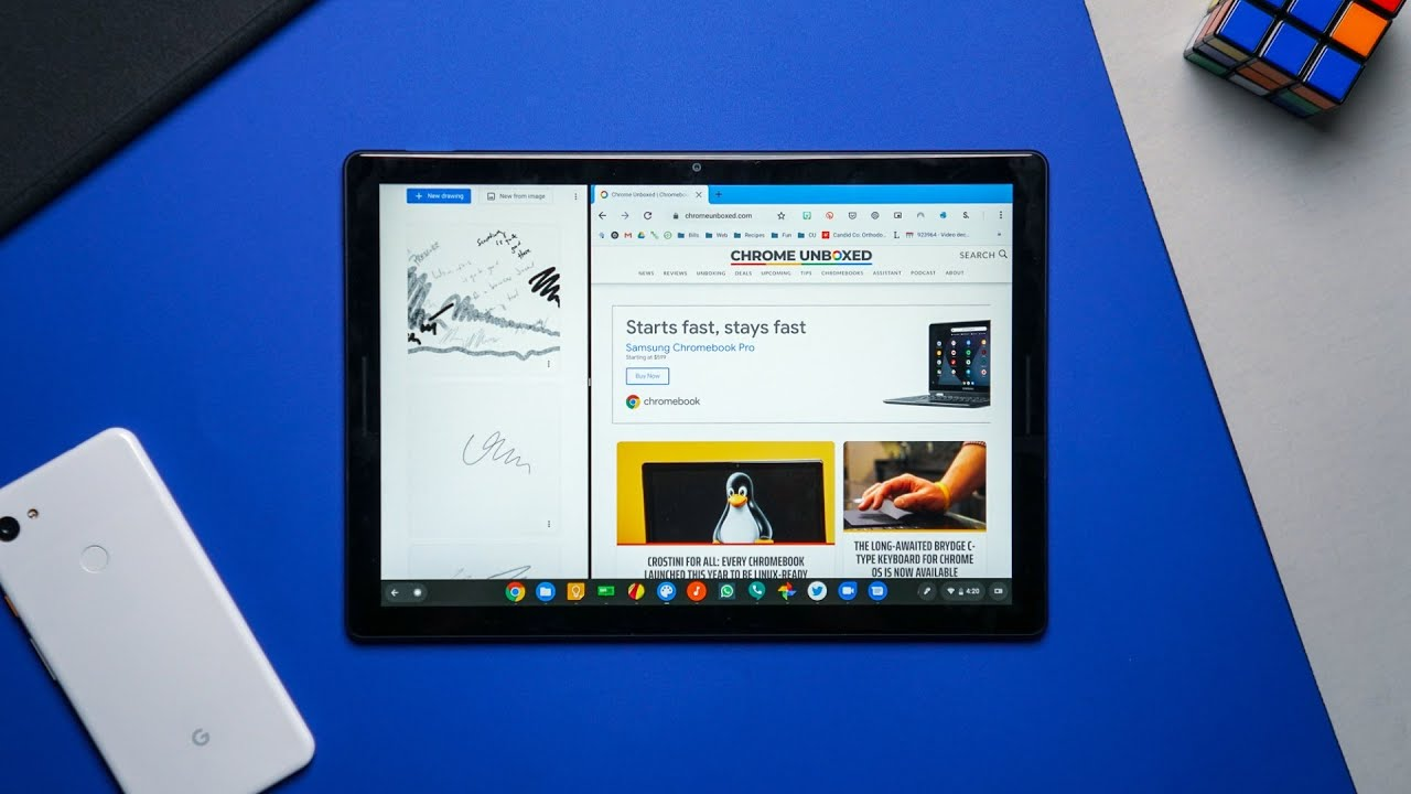 Chromebook Tablet Mode Improvements Youtube