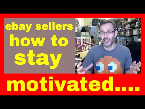 Tat chat #83 - Listing processes & keeping motivated - full time ebay resellers