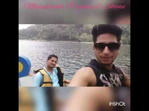 mukesh chauhan with Pradeep & shanu at nainital