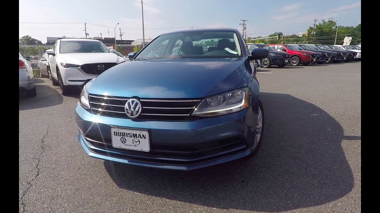 What Do You Get With The Est Volkswagen 2017 Jetta S Review
