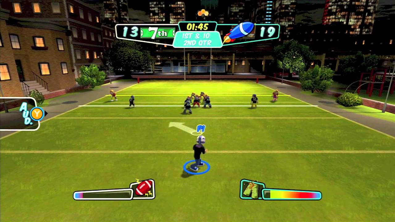 backyard sports rookie rush punting perfection youtube