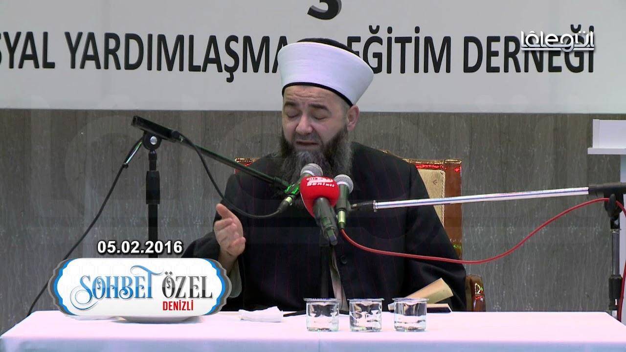 05 Şubat 2016 Tarihli Denizli Sohbeti - Cübbeli Ahmet Hoca Lâlegül TV