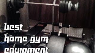 Best Home Gym Equipment - Cheap, Versatile And Compact