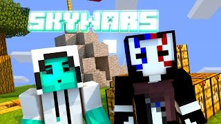 SKY WARS MINECRAFT | LUCK BLOCK AND NO LUCKY :D
