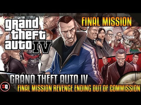 Grand Theft Auto IV - Final Mission / Revenge Ending - Out of Commission