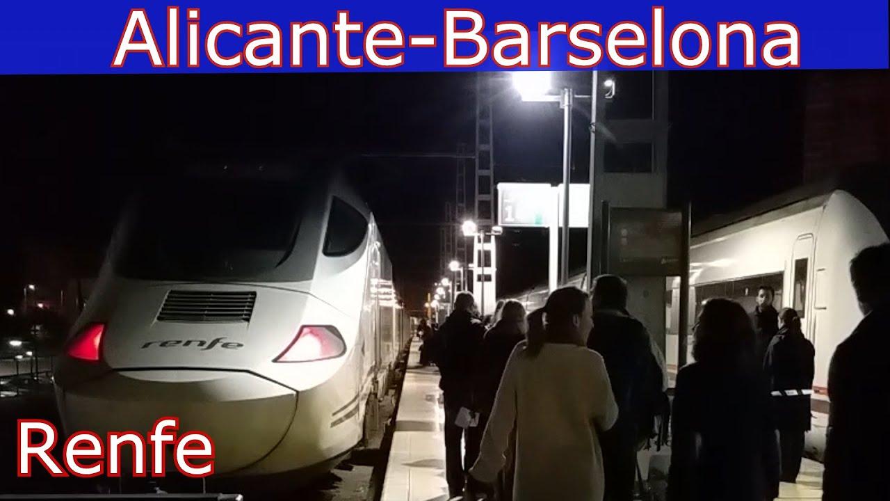 Поезд барселона в аликанте