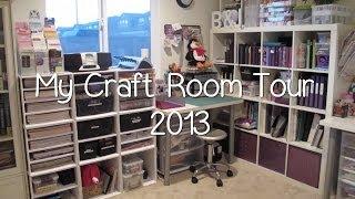 My Purpley Life - Craft Room Tour 2013