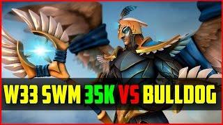 W33 Skywrath Mage Vs Bulldog 35 Kills | Dota 2 Ranked Gameplay