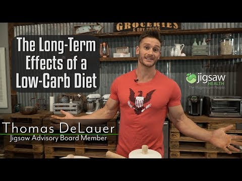 The Long Term Effects of a Low Carb Diet | #ScienceSaturday