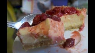 Простой пошаговый рецепт приготовления чизкейка с сыром дома из печенья без выпечки