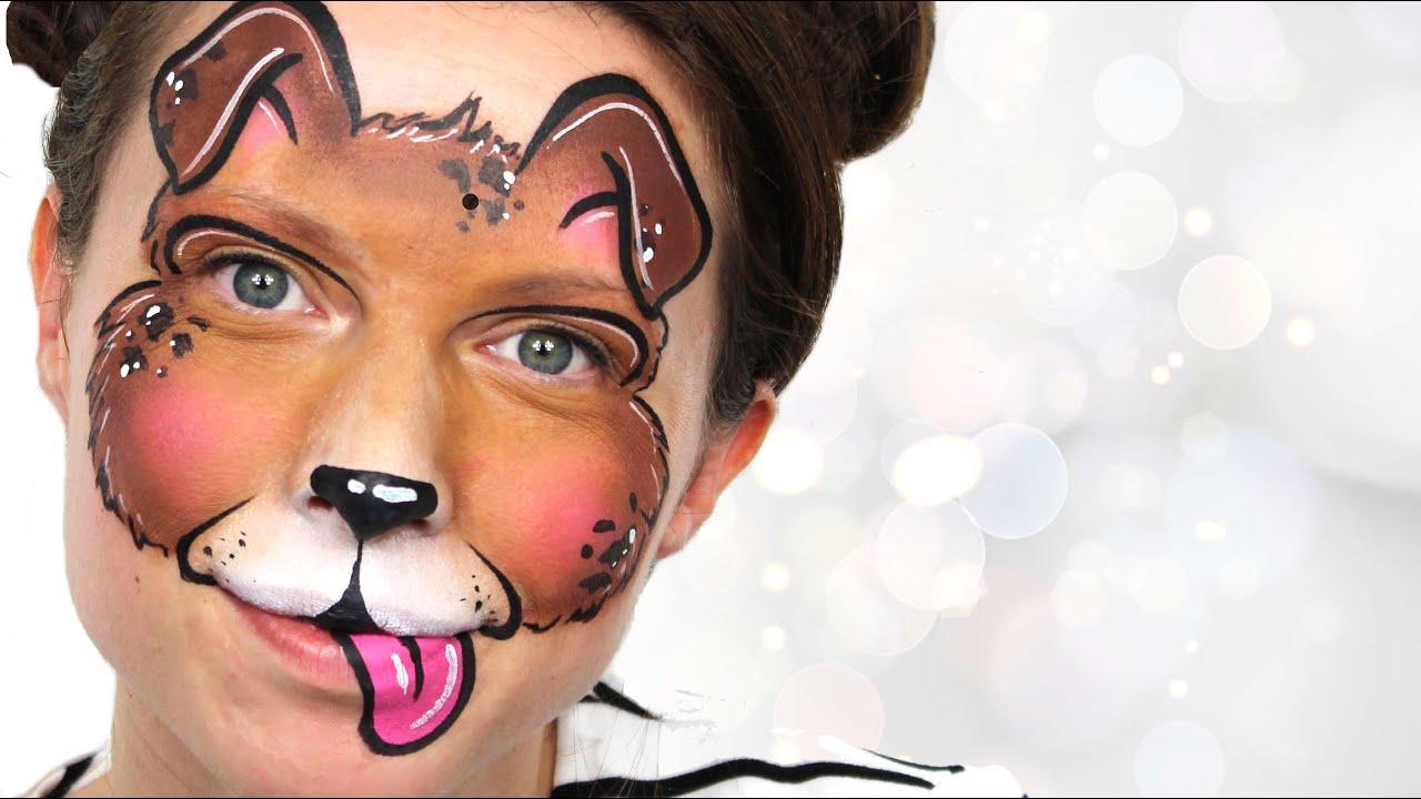 Uncategorized Face Paint Dog puppy dog face painting ashlea henson youtube henson