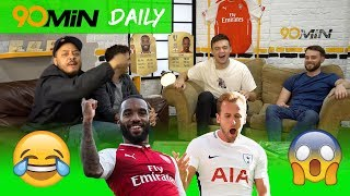 Will Tottenham destroy Arsenal in the North London Derby!?   Can Man United catch Man City!?   Daily