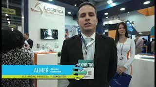 Logistic Summit & Expo - Testimonial expositor ALMER  – Alejandro Mendoza