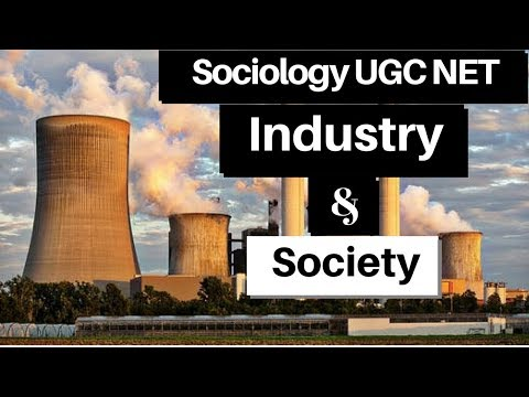 UGC NET Sociology Industry and Society Questions in Hindi & English (Part 1)