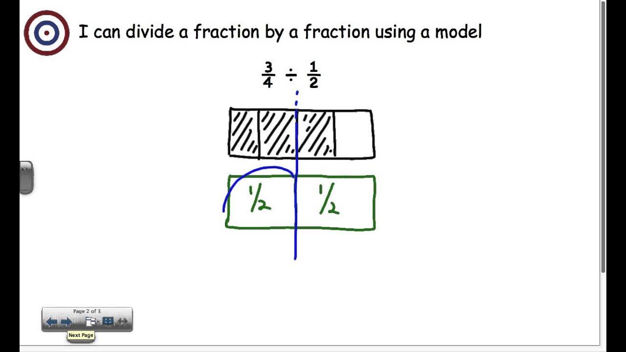 Multiply and Divide Fractions - 23th grade at Oakhurst STEAM Academy In Dividing Fractions Using Models Worksheet