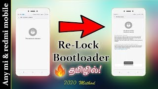 How To Relock the Bootloader of Any Xiaomi, Mi, Redmi, Poco Phones | Ft. Poco F1.
