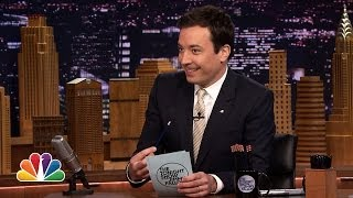 Jimmy Fallon's Top 10 List: Why Letterman's Retiring