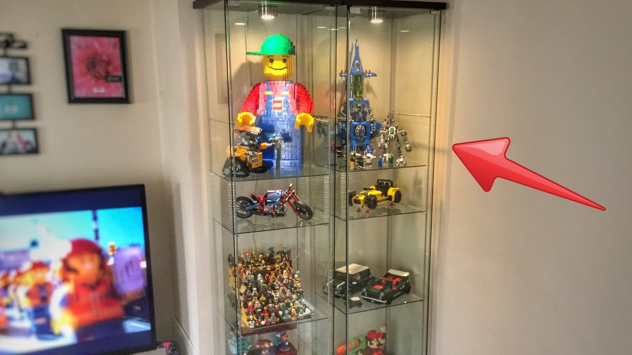 Detolf Vitrine How I Display My Lego Detolf Case From Ikea
