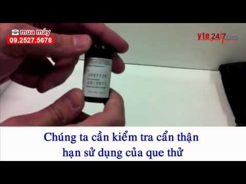 Hướng dẫn sử dụng máy đo đường huyết One Touch Ultra Easy