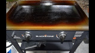 How To Season Your Black Stone Griddle - Seasoning A Flat Top Griddle