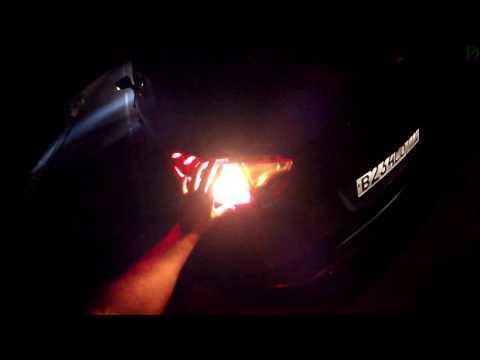 Renault Kaptur ночной обзор