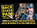 Capture de la vidéo Former W.a.s.p Guitarist Chris Holmes On Blackie Lawless, His Marriage To Lita Ford &Amp; More New 2021