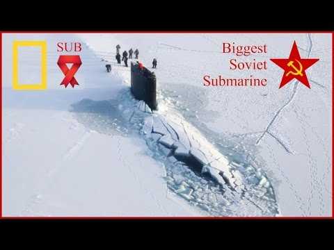 Nati-Geo Megastructures - Biggest Russian-Soviet Doomsday Submarine - BBc Russia documentary