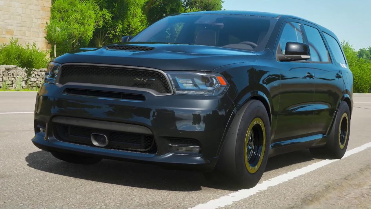 dodge durango srt drag race Forza Horizon 2 2Hp 2 DODGE DURANGO SRT 2 [Drag Build]