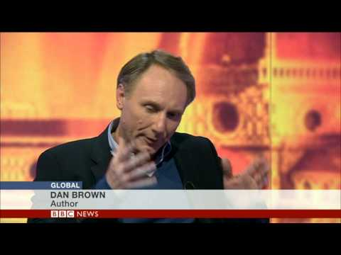 DAN BROWN INFERNO INTERVIEW BBC WORLD NEWS