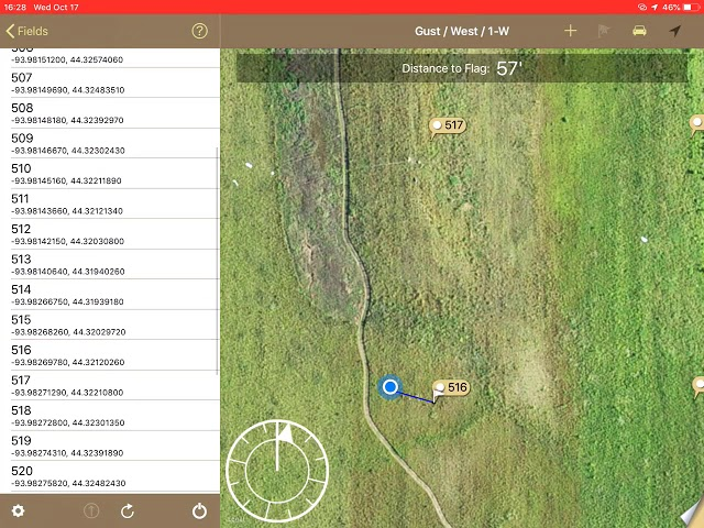 Move Sample Points with FieldX Sampling App