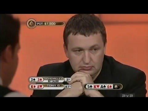 Покер-шоу Big Game C русскоязычными игроками 5