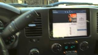 iPad Mini Custom Install in 2011 Chevy Silverado