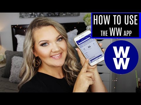 HOW TO USE WW Freestyle APP | Weight Watchers