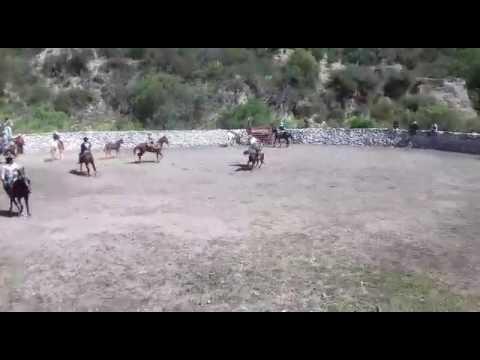 Encinos peñamiller jaripeo feria del aguacate 2016