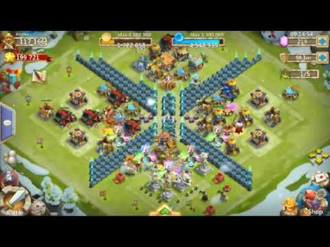Castle Clash Trading Arctica Account! Check Description!!